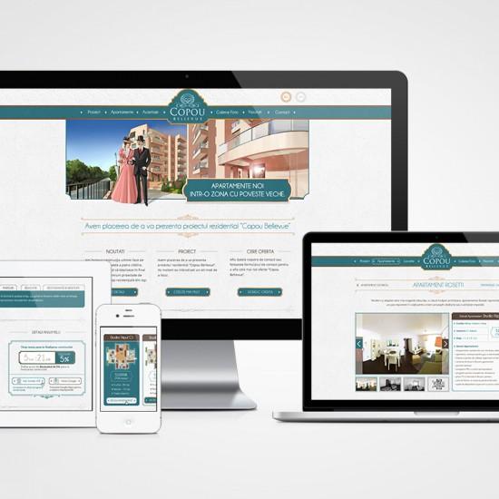 Copou Bellevue Website